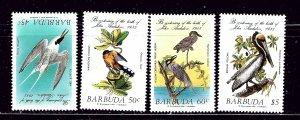 Barbuda 701-04 MNH 1985 Birds   #4