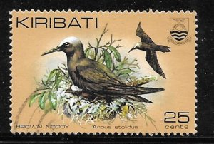 Kiribati 392A: 25c Brown Noddy (Anous stolidus), used, VF