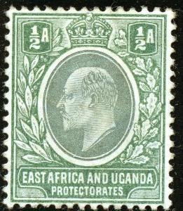 East Africa & Uganda Protectorates #17; MHr; 2019 SCV $16.00