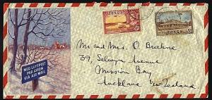 TONGA 1955 airmail cover to New Zealand....................................93538