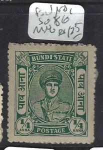 INDIA NATIVE STATE BUNDI  (PP0903B) SG 86   MNG