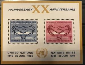 U.N. NY-#145 SCV .35 MNH