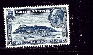 Gibraltar 99 MH 1933 Ships