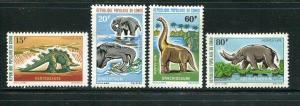 Congo #229-32 Mint (Dinosaurs)