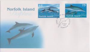 Norfolk Islands Scott 621-622 Unaddressed.