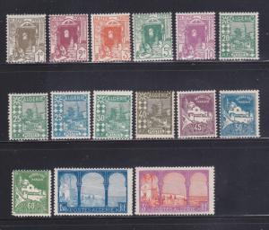 Algeria 33-37, 39, 41-42, 45, 47-49, 51, 62, 64 MHR Various (A)