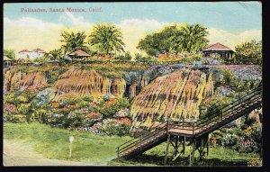 US STAMP  #548 – 1920 1c Pilgrim Tercente STAMP SANTA MONICA PICTURE POST CARD