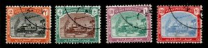 SUDAN SGD12/5 1948 POSTAGE DUE SET USED