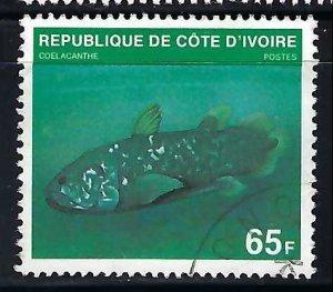 Ivory Coast 521B VFU FISH Z3251