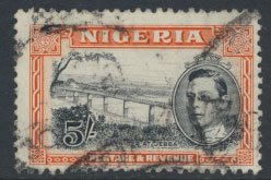 Nigeria  SG 59c spacefiller  Perf 12  1949 Definitive please see scan