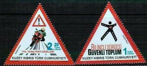 2015 -UNMOUNTED MINT - PREVENTION OF TRAFFIC ACCIDENTS TURKISH CYPRUS