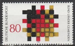 Germany #1408 MNH   (S4438)