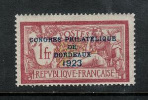 France #197 Mint Fine Lightly Hinged