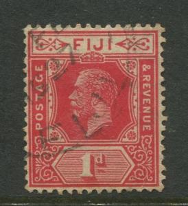 Fiji - Scott 95 - KGV - Definitive - 1922 - Used - Single 1p Stamp