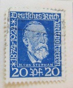 A8P50F130 Deutsches Reich Allemagne Germany 1924 20pf fine used stamp