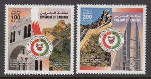 Bahrain 646-647 MNH VF
