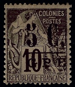 Guadeloupe Sc #10 Mint Fine...French colonies are in demand!