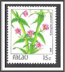 Palau #131 Indigenous Flowers MNH
