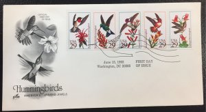 US #2646a (2642-2646) Hummingbirds: America's Winged Jewels 1992