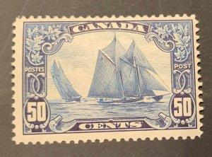 Canada #158 Mint F-VF  LH -- THE BLUENOSE --