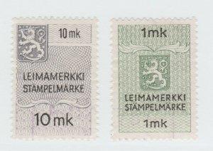 Finland fiscal revenue Cinderella stamp 4-22-21-