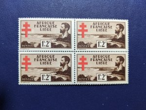 French Equatorial Africa B9 XFNH complete set, CV $12