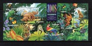 Australia Zoo S/S  #1389a  mnh