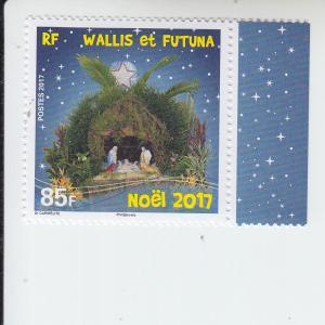 2017 Wallis & Futuna Christmas (Scott 793) MNH