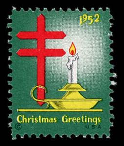 WX Christmas Seal Mint (NH) 1952