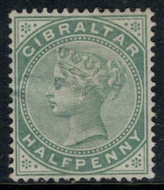 Gibraltar #9* no gum  CV $14.00