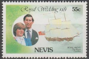 Nevis #135  MNH F-VF  (SU89)