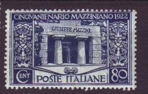 J20295 jlstamps 1922 italy mh #142 tomb