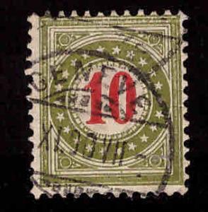 Switzerland Scott J24 used postage due