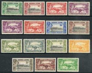 Sierra Leone SG188/199 KGVI Set to 10/- M/M