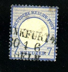 GERMANY #24 USED F-V F THIN Cat $68