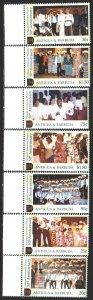 Antigua and Barbuda. 2002. 3713-19. Art in Antigua Theater. MNH.