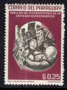 Paraguay 746 Space MNH VF