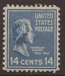 U. S.  # 819   Mint