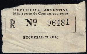 Argentina Registration Label