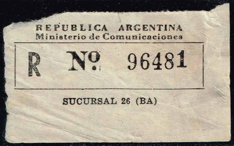 Argentina Registration Label