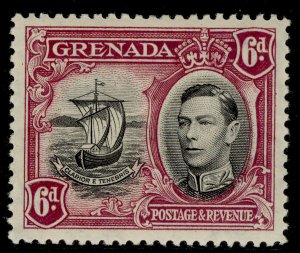 GRENADA GVI SG159, 6d black and purple, M MINT.