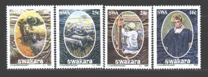 South west africa. 1986. 592-95. Sheep, Pets, Wool Products. MNH.