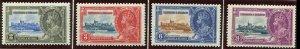 TRINIDAD & TOBAGO # 43-4 -MINT Lightly Hinged Set --GEOVI--1935