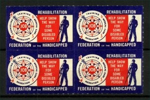 USA Federation of the Handicapped Charity Labels