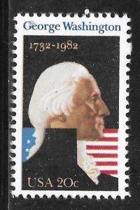 USA 1952: 20c George Washington, MNH, VF