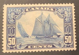 Canada #158 Mint VF  LH -- THE BLUENOSE --