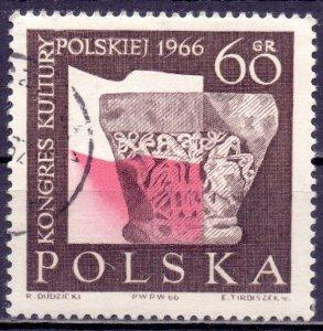 Poland. 1966. 1714. Congress of Polish Culture. USED.