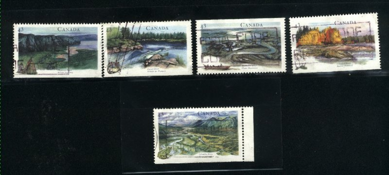 Canada #1511-15   -4    used VF 1994  PD
