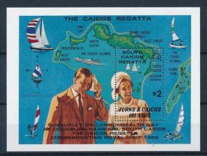 [81273] Turks & Caicos Islands 1981 Ships Sail boats Sailing Regatta Sheet MNH