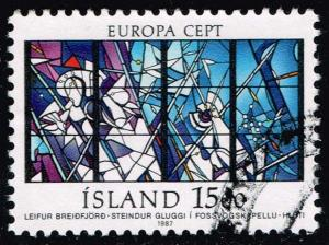 Iceland #640 Europa Cept 1987; Used (0.80)